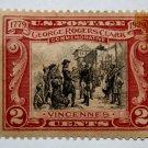 U.S. Cat. # 651 -1929 2c George Rogers Clark