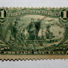U.S. Cat. # 285 - 1898 1c Trans-Ms Marquette