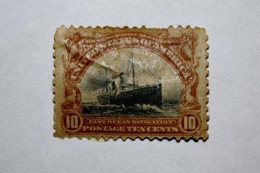 2-U.S. # 299 - 1901 10c Fast Ocean Navigation