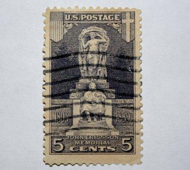U.S. Cat. # 628 - 1926 5c Ericsson Memorial