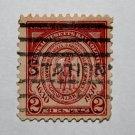 U.S. Cat. # 682 - 1930 2c Seal of Massachusetts Bay Colony