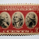U.S. Cat. # 703 - 1931 2c Yorktown Issue