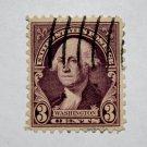 U.S. Cat. # 720 - 1932 Washington 3c deep violet