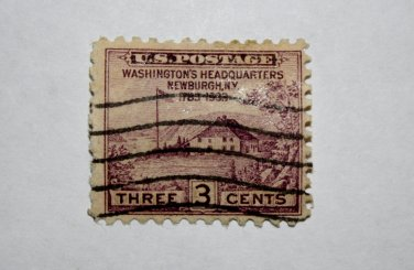 U.S. Cat. # 727 - 1933 3c Peace of 1783 Sesquicentennial