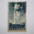 U.S. Cat. # 744 - 1934 5c Yellowstone, Idaho, Mont., Wyoming