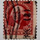 2-U.S. Cat. # 707 - 1932 2c Washington by Gilbert Stuart