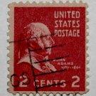 U.S. Cat. # 806 - 1938 2c John Adams, single