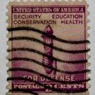 U.S. Cat. # 901 - 1940 3c Torch of Enlightenment