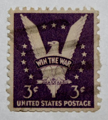 2-U.S. Cat. # 905 - 1942 3c Win the War