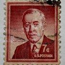 U.S. Cat. # 1040 - 1956 7c Woodrow Wilson