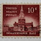 2-U.S. Cat. # 1044 - 1956 10c Independence Hall