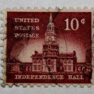 3-U.S. Cat. # 1044 - 1956 10c Independence Hall