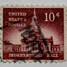 4-U.S. Cat. # 1044 - 1956 10c Independence Hall