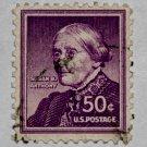 U.S. Cat. # 1051 - 1958 50c Susan B. Anthony