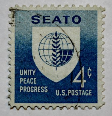 U.S. Cat. # 1151 - 1960 4c Seato