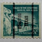 U.S. Cat. # 1054a - 1960 1-1/4c Palace of Governors, coil
