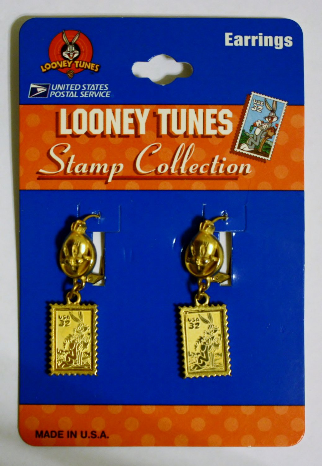 Looney Tunes Stamp Collection Earings
