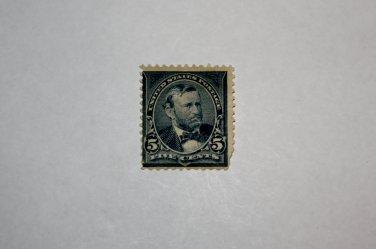U.S. Cat. # 281 - 1898 5c Grant, dark blue