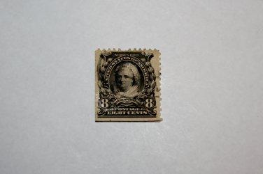 U.S. Cat. # 306 - 1902 8c Martha Washington