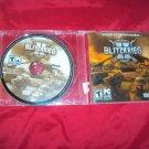 BITZKRIEG II PC DISC ART & CD CASE NEAR MINT TO VERY GOOD SHIPS SAME DAY OR NEXT
