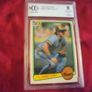 1983 DONRUSS #258 ROBIN YOUNT BREWERS GRADED IN HARD CASE HALL OF FAMER