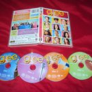 GLEE SEASON 1 VOL. 1  ROAD TO SECTIONALS DVD 4 DISCS CASE & ART NRMNT TO VG