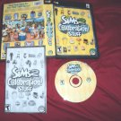 THE SIMS 2 CELEBRATION STUFF PC DISC MANUAL ART & CASE GOOD / NEAR MINT HAS CODE