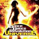 DANCE DANCE REVOLUTION UNIVERSE Xbox 360 DISC MANUAL ART & CASE GOOD TO NRMNT