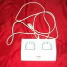 GIGAWARE Wii 2 CONTROLLER RECHARGE DOCK + USB CABLE + BATTERY PACKS WORKS GREAT