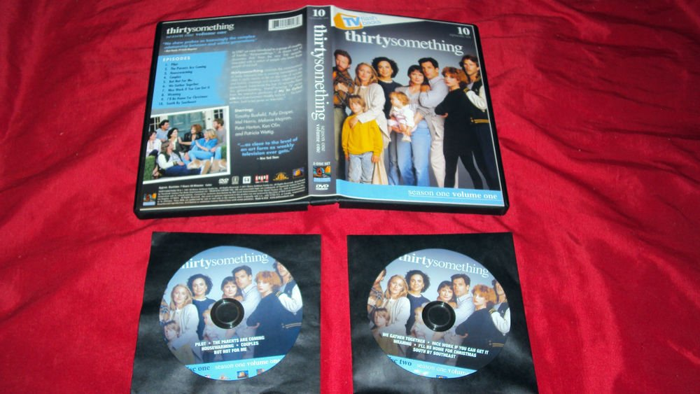 THIRTYSOMETHING VOL. 1 SEASON ONE 2011 DVD 2 DISCS CASE & ART MINT TO NEAR MINT