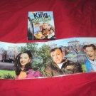 THE KING OF QUEENS SEASON 1 ONE DVD 3 DISCS BOX ART & DISC ART CASE VG TO NRMNT