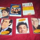 SEINFELD SEASONS 1 & 2 DVD 4 DISCS BOX ART SLIP COVER & ART CASES VG TO NRMNT