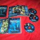 NiIGHTMARES & DREAMSCAPES COLLECTION 8 STORIES DVD 3 DISCS BOX ART & ART CASES