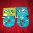 SIMS UNLEASHED Expansion Pack PC DISCS ART & CD CASE VERY GOOD TO NEAR MINT