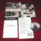 NHL 06 GameCube & Wii DISC MANUAL ART & CASE NEAR MINT TO GOOD SHIP SAME DAY/NXT