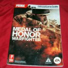 MEDAL OF HONOR WARFIGHTER STRATEGY GUIDE NEAR MINT CONDITION SHIP SAME DAY/NEXT