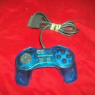 Playstation PS1 GAMEPAD COLORS PERFORMANCE CONTROLLER P-107GSN GOOD CONDITION