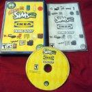 Sims 2 IKEA STUFF PC DISC MANUAL ART & CASE NRMINT HAS CODE SHIP SAME DAY / NEXT