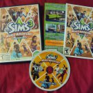 THE SIMS 3 WORLD ADVENTURES PC & MAC DISC MANUAL CASE & ART NRMNT/ MINT HAS CODE