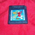Game Boy Color SESAME STREET ELMO'S 123s CARTRIDGE & ART VG SHIP SAME DAY OR NXT