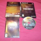 FINAL FANTASY XII COLLECTOR'S EDITION DISC METAL CASE MANUAL GOOD TO VERY GOOD