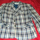 DONNKENNY  BLAZER JACKET SIZE 13 VERY NICE CONDITION SHOULDER PADS SHIP SAME DAY