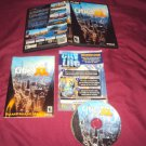 CITIES XL 2011 PC DVD DISC MANUAL INSERT ART & CASE VG TO NRMNT SHIP SAME / NEXT