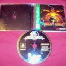 MORTAL KOMBAT 4 PlayStation 1 PS1 *** PS2 *** PS3 DISC MANUAL & CASE GOOD TO VG