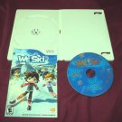 WE SKI Wii DISC MANUAL & CASE VERY GOOD TO GOOD SHIPS SAME DAY OR NEXT