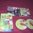 THE SIMS 2 UNIVERSITY PC DISCS MANUAL ART & CD CASE NRMNT TO VERY GOOD HAS CODE