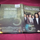 Law & Order COMPLETE FIFTH YEAR SEASON 5 FIVE DVD 5 DISCS NEW NOT SEALED