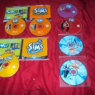 SIMS DELUXE EDITION + HOT DATE + HOUSE PARTY + VACATION + SUPERSTAR PC