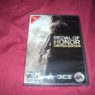 MEDAL of HONOR LIMITED EDITION PC DVD NEW & FACTORY Y-FOLD SEALED