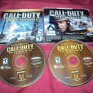 CALL OF DUTY UNITED OFFENSIVE ( FROM DELUXE EDITION SET ) PC DISCS CD CASE & ART